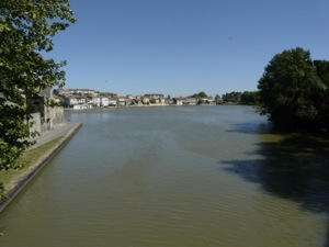 Castelnaudary, arrival on the Grand Bassin