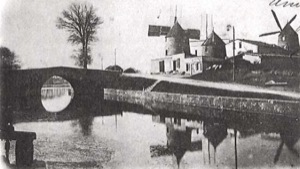 The Castelnaudary windmill