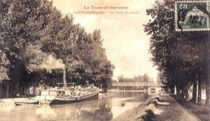 Les bords du Canal