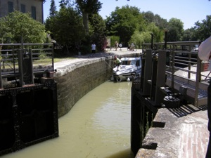 The lock of Gardouch