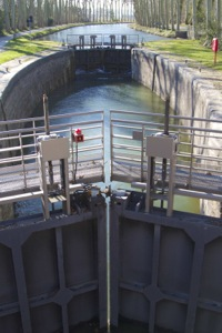The lock of la Planque