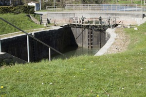 The lock of Laval