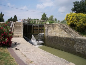 The double lock of the Fresquel