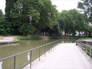 Canal-bridge on the Orbiel